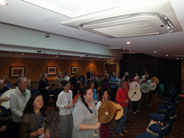 Steven and Renata Ash - Sacred Drumming Workshop - Conference 2016