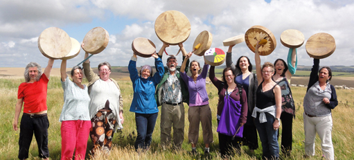 Sacred Drumming Practitioner Training - moments